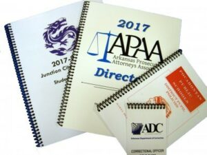 Books/Brochures/Other Printing Materials