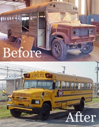 Bus Refurbishing