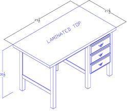 Right-Hand Desk