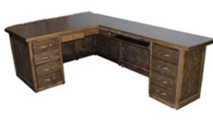 """Right-Hand Executive Desk With 60"""" Return"""