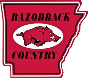 Razorback Country Sign