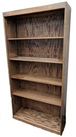Single Side Bookcases