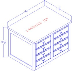 Legal Size File Cabinet - 4 Drawer