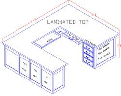 U-Shaped Left-Hand Workstation
